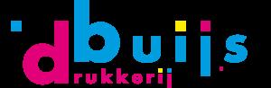 Drukkerij Buijs Logo formaat 1686x553