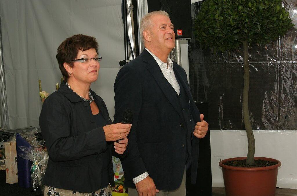 Jeanne en Fred Drukkerij Buijs 25 jaar jubileum 2007